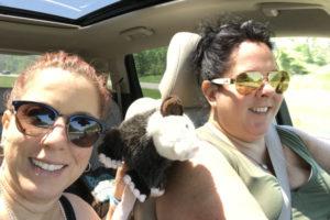 opossum roadtrip with Kim & Tammy